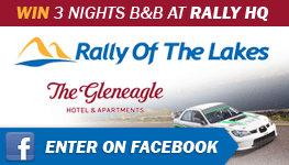 Win 3 nights at the Rally of the Lakes!