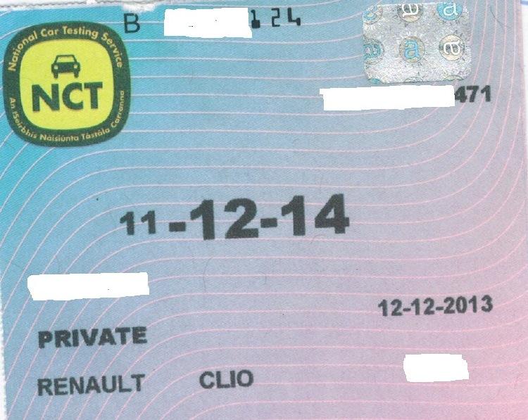 Stolen NCT Cert 180215