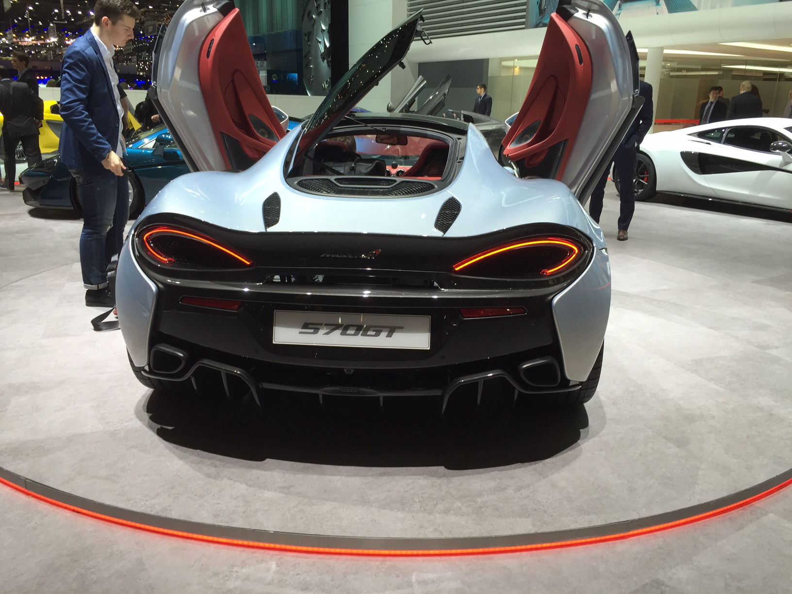 McLaren 570GT at the Geneva Motor Show 2016
