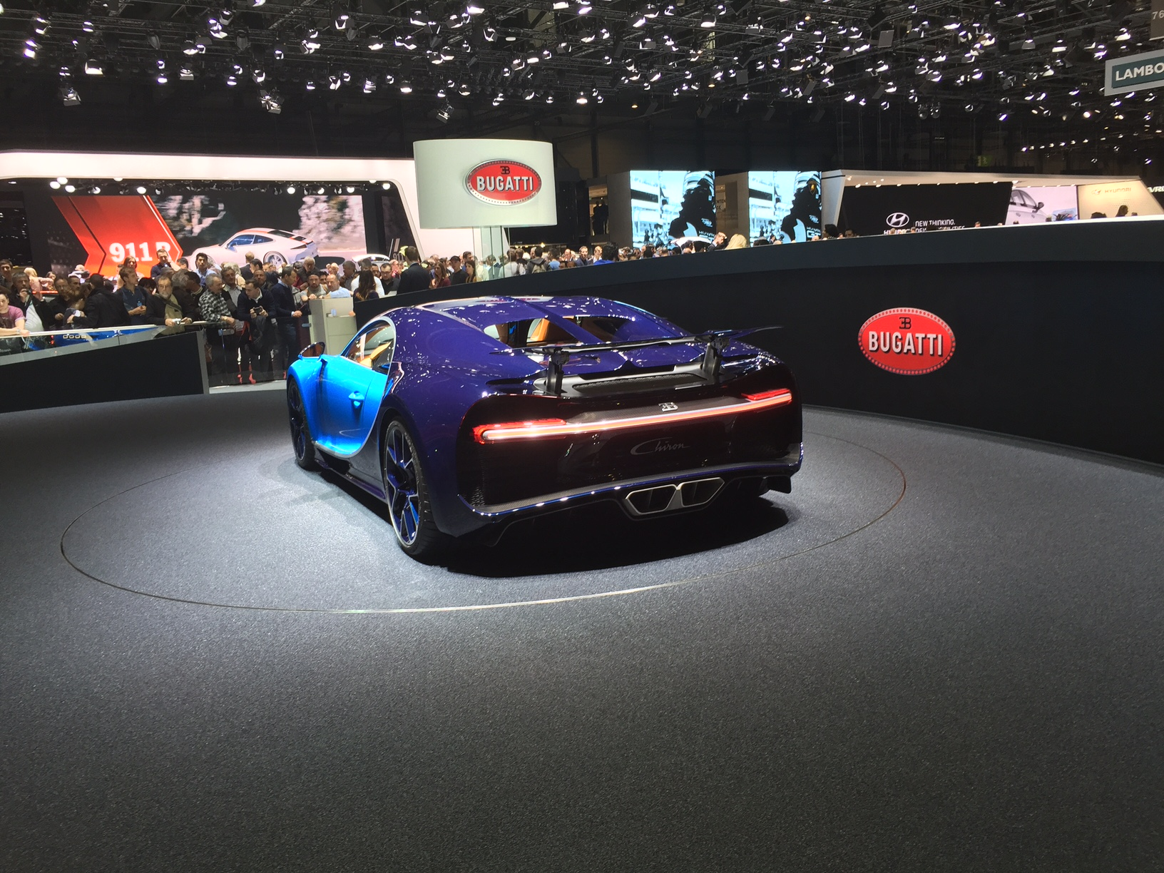 The Star of the Show - Bugatti Chiron