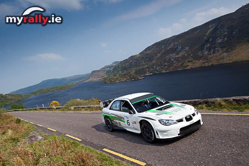 Daragh O Riordan wins the Cartell International Rally