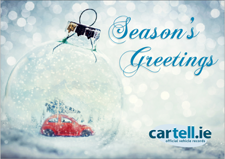 Season's Greetings from Cartell.ie