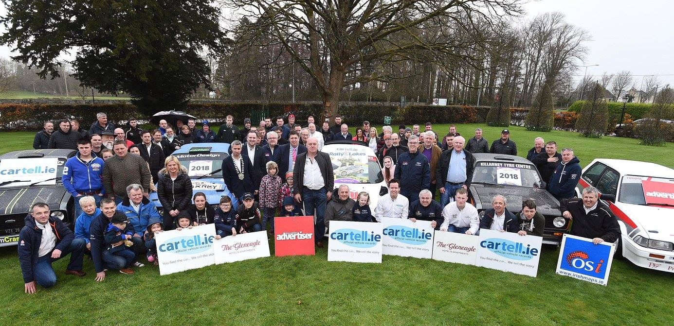 PRESS RELEASE - Cartell.ie Rally of The Lakes - Cartell Car Check