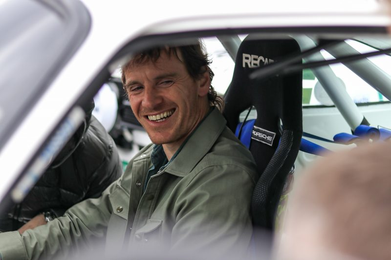 Cartell.ie Rally of the Lakes & Michael Fassbender in a Porsche 911