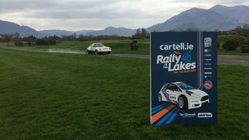 Cartell.ie Rally of the Lakes & Michael Fassbender driving a Porsche 911
