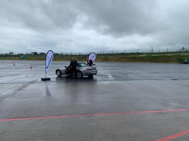 Attempting Donuts - Cartell.ie at Honda Track Day