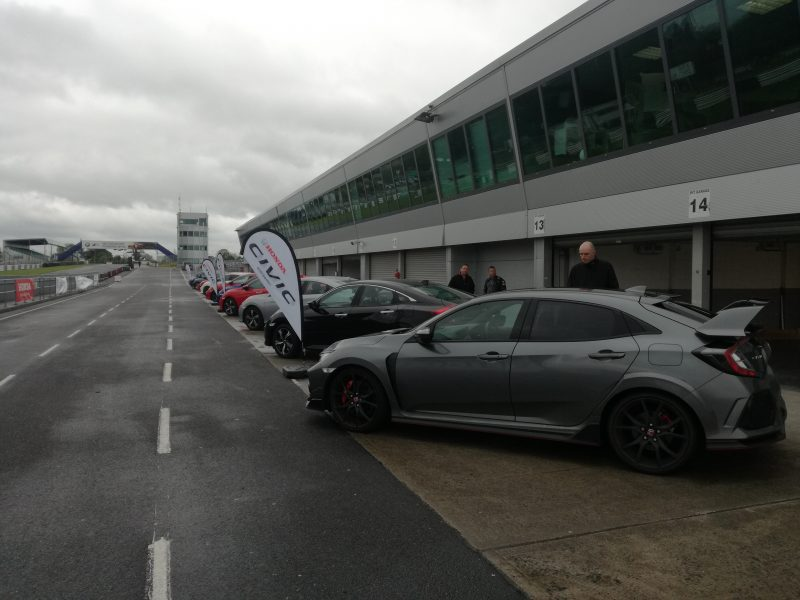 Cars in Formation - Cartell At Honda Track Day