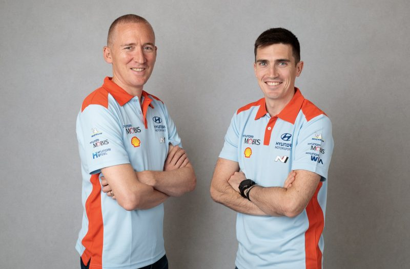 Craig Breen and Paul Nagle - Hyundai